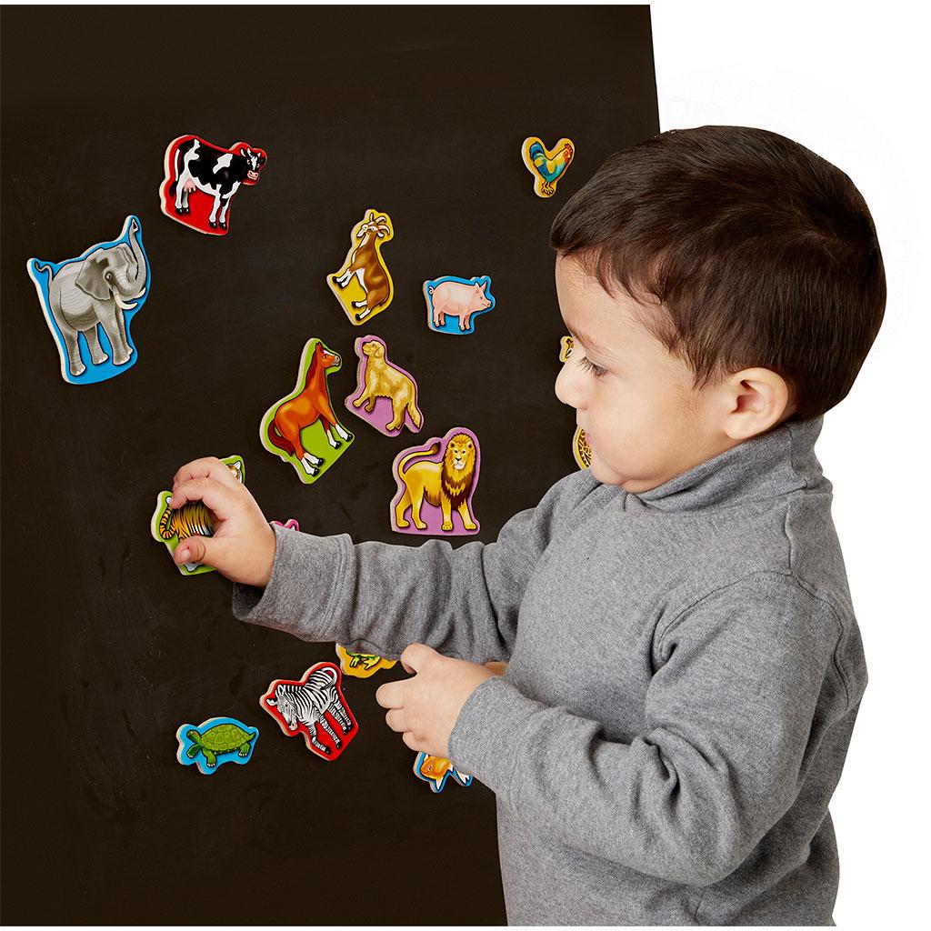 magneter, dyr, høretabs legetøj, legetøj sprog, sprog legetøj, høretab, cochlear implants, høreapparater, dyremagneter, kategori leg, performativer