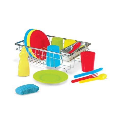 Opvasksæt, lad og lege rolleleg, opvaske sæt, rengøring, hvedags rolleleg, sprogstimulering, auditory verbal therapy, avt vejledning, ciha