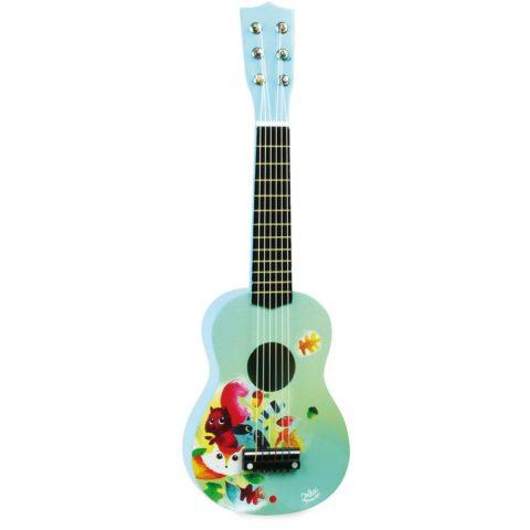 guitar, børne musik, lille musiker, musik og høretab, cochlear implants, høreapparater