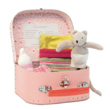 kuffert, ordforråd om at sove, sprogbad om at sove, mus skal sove, historiefortælling, fantasi, mus i kuffert