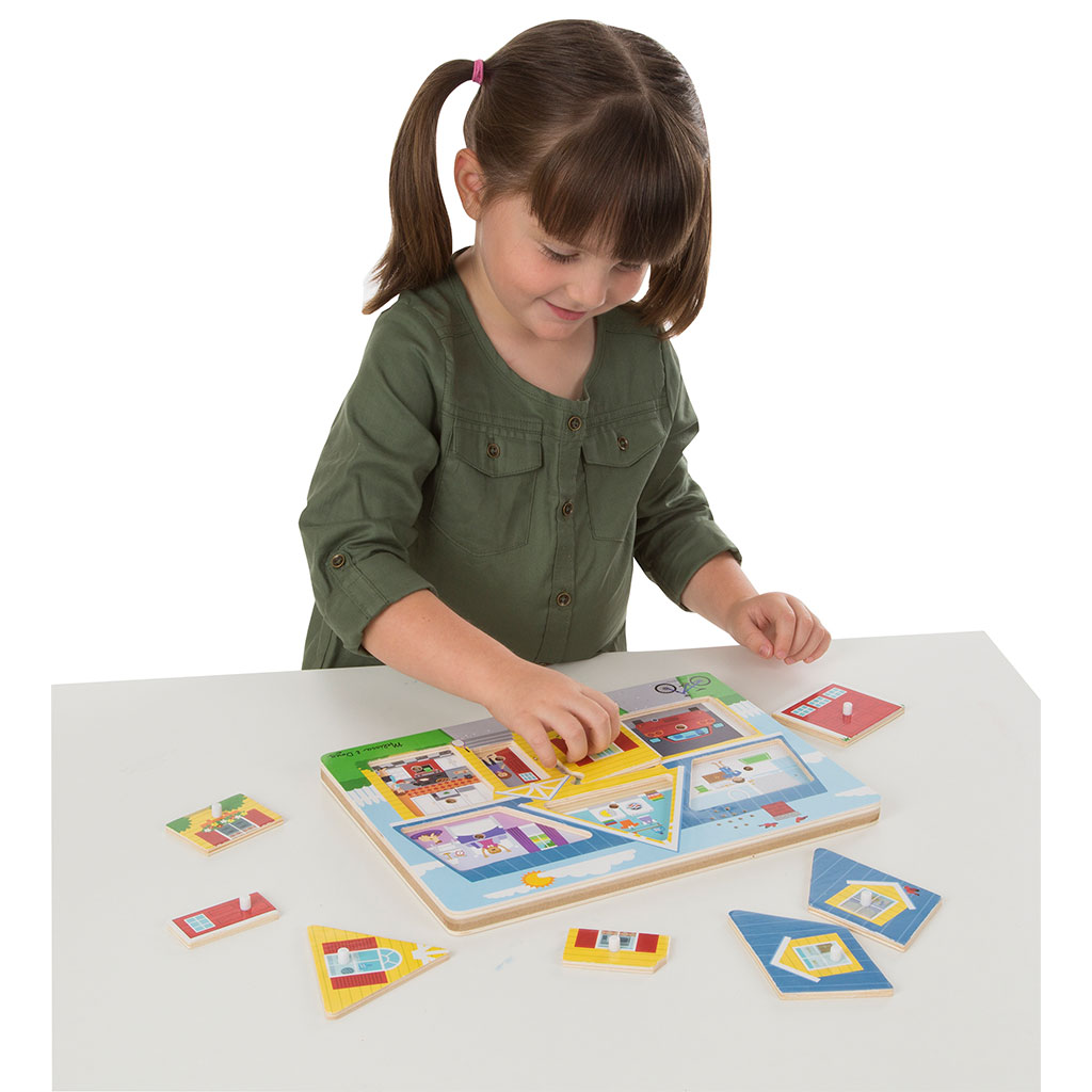 lyd puslespil, puslespil med lyd, hjemmets lyde, leg og sprogtræning, avt metoden, adutory verbal therapy, ciha