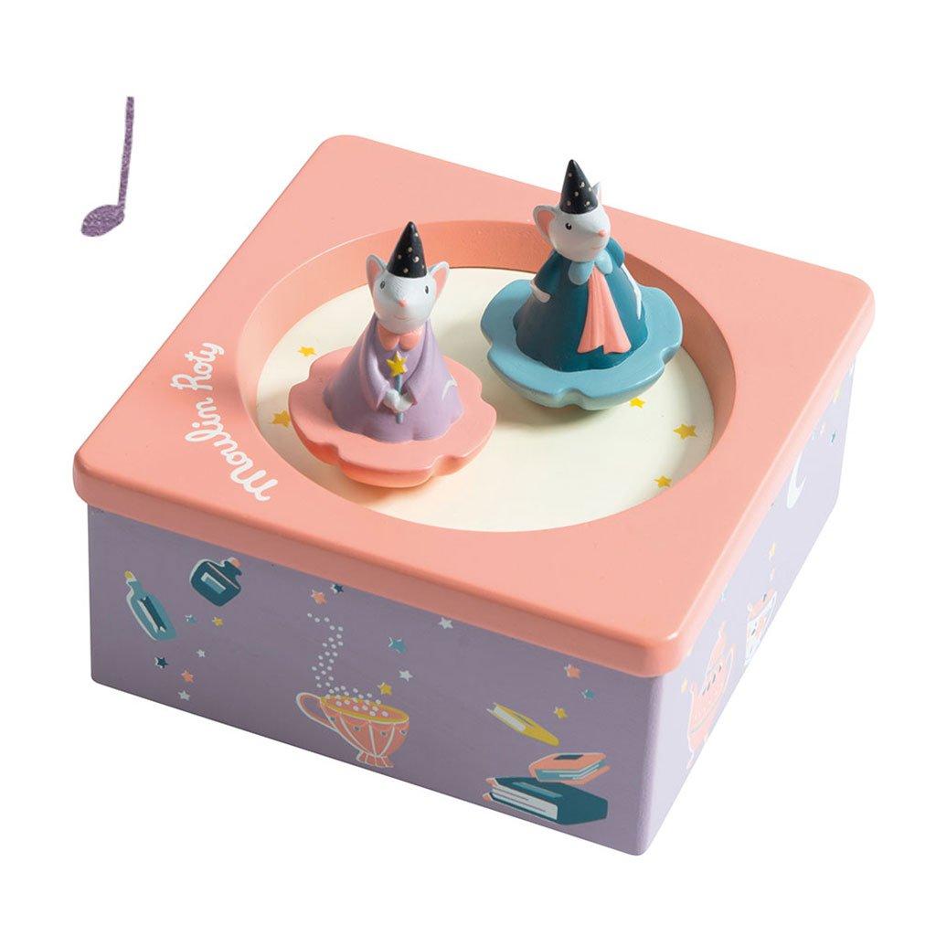 Spilledåse, spilledaase, musik, vuggevise, høretab, lær at lytte, godnat, magnetisk spilledåse