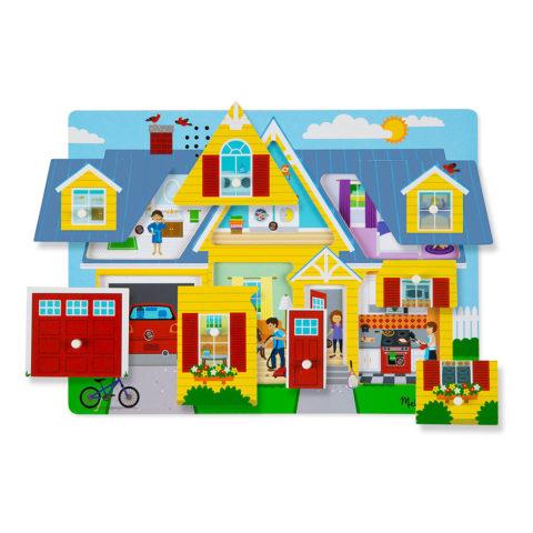 hjemmet, lyd puslespil, puslespil med lyd, hjemmets lyde, leg og sprogtræning, avt metoden, adutory verbal therapy, ciha