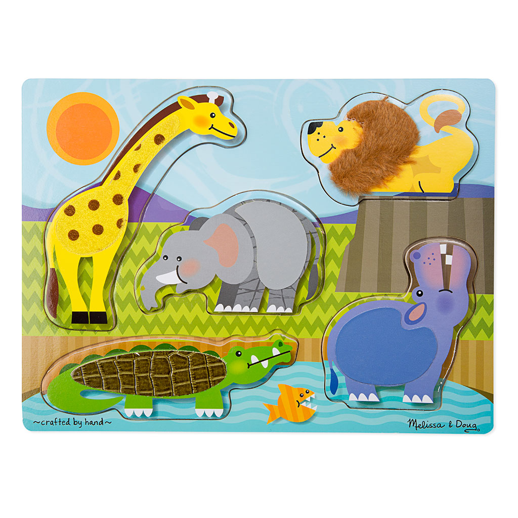 Image of   Zoo puslespil - rør og føl