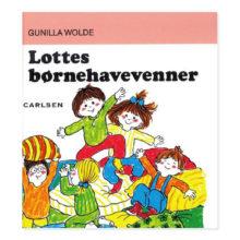 Lottes børnehavevenner, lotte bøgerne, lotte, gunilla wolde, ciha, sprogtræning, boglæsning, dialogisk læsning, børnebog, klassiske børnebøger, boglæsning, ciha