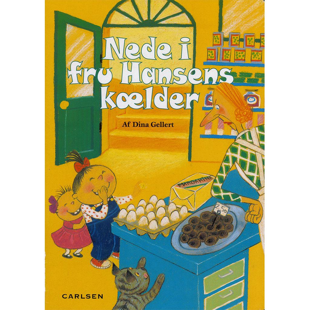 Image of   Børne rim - Nede i fru Hansens kælder