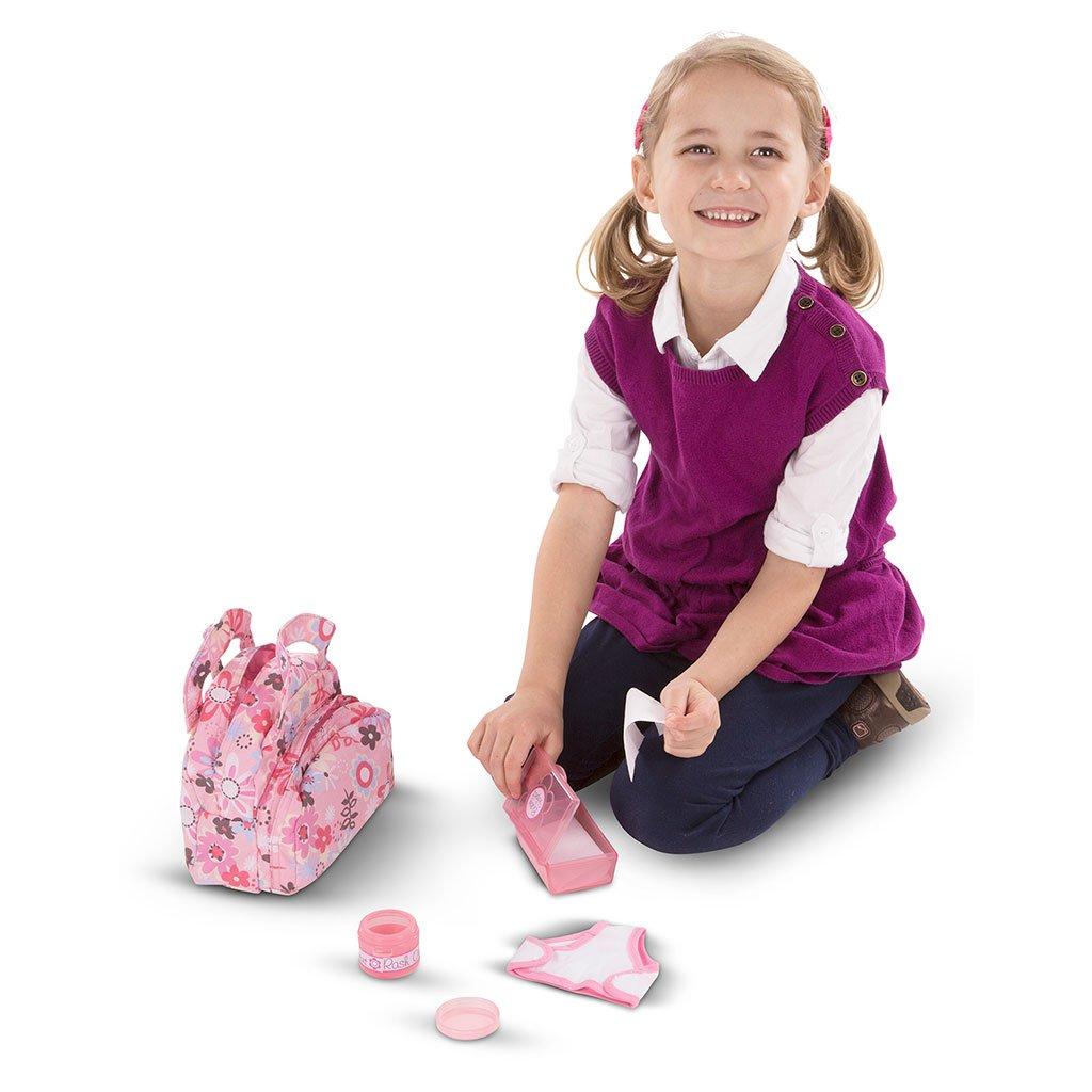 pusletaske, Dukken Annie, dukke, rolleleg, sprogbade, sprog, sprogstimulerende, mor, barn, dukkeleg, melissa and doug, ciha, avt, høretab, hørenedsættelse, cochlear implants, høreapparater