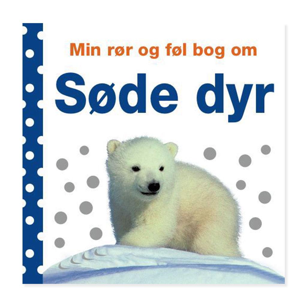 Image of   Søde dyr - min rør og føl bog