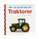 Traktorer, traktorer og andre maskiner, min rør og føl bog om de søde dyr, rør og føl bog, sprogstimulering, sprogtræning, avt træning, ciha, cochlear implants, høreapparater, ciha