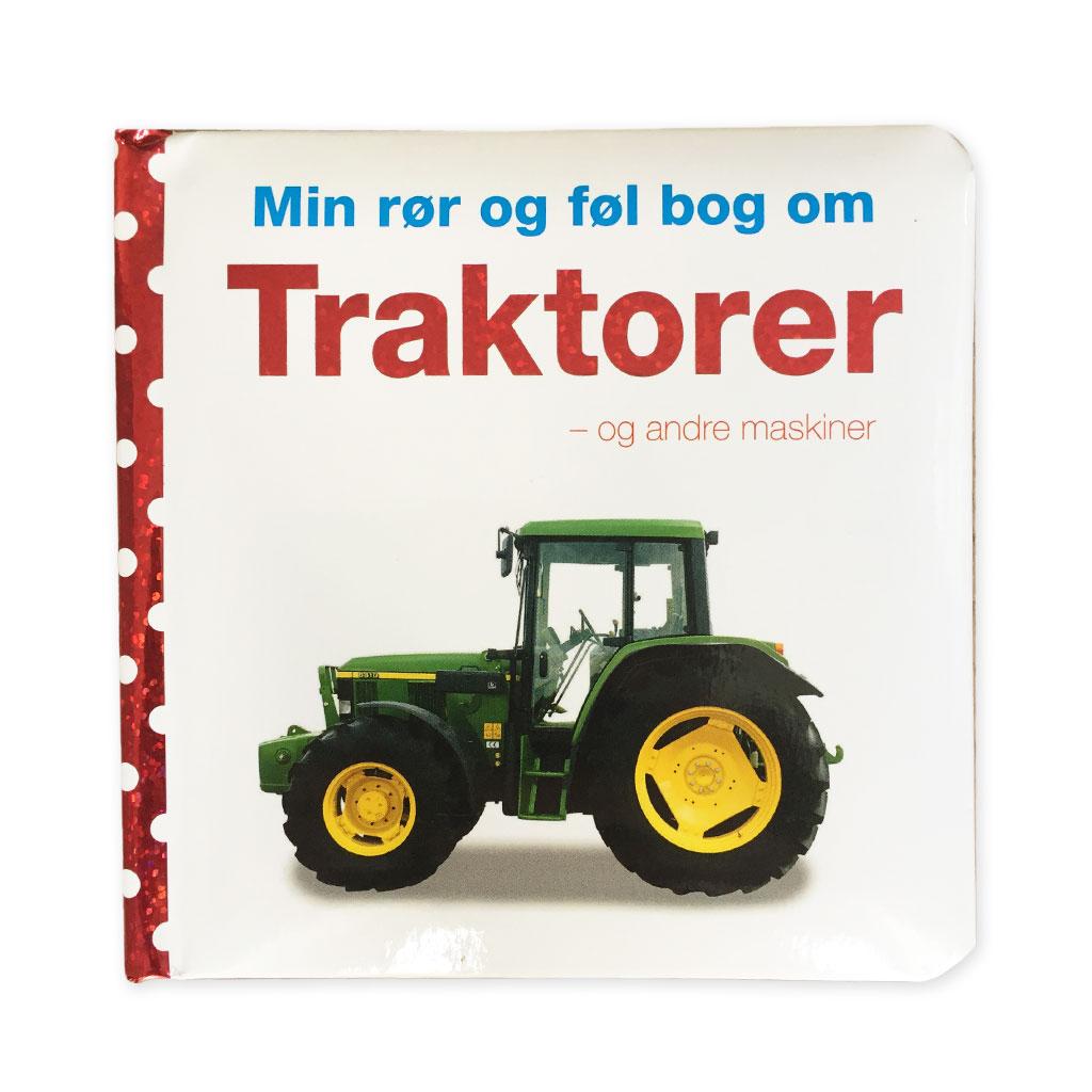 Image of   Traktorer - min rør og føl bog
