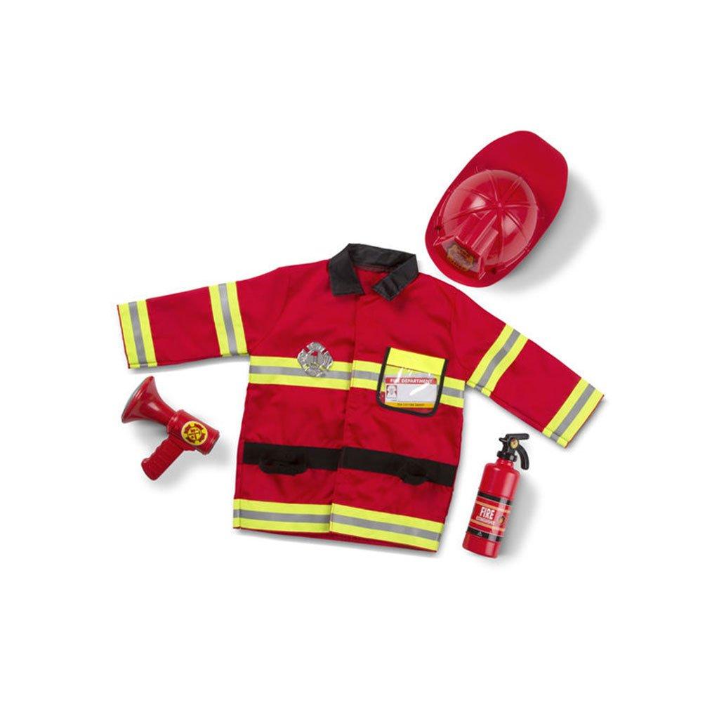brandmand, brandmand kostume, fastelavn, rolleleg, ordforråd, ciha, høretav, cochlear implant