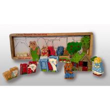 Guldlok og de tre bjørne, guldlok, eventyr, historie fortælling, sprog, spontant sprog, ciha, høretab, hørelse, vuggestue sprog