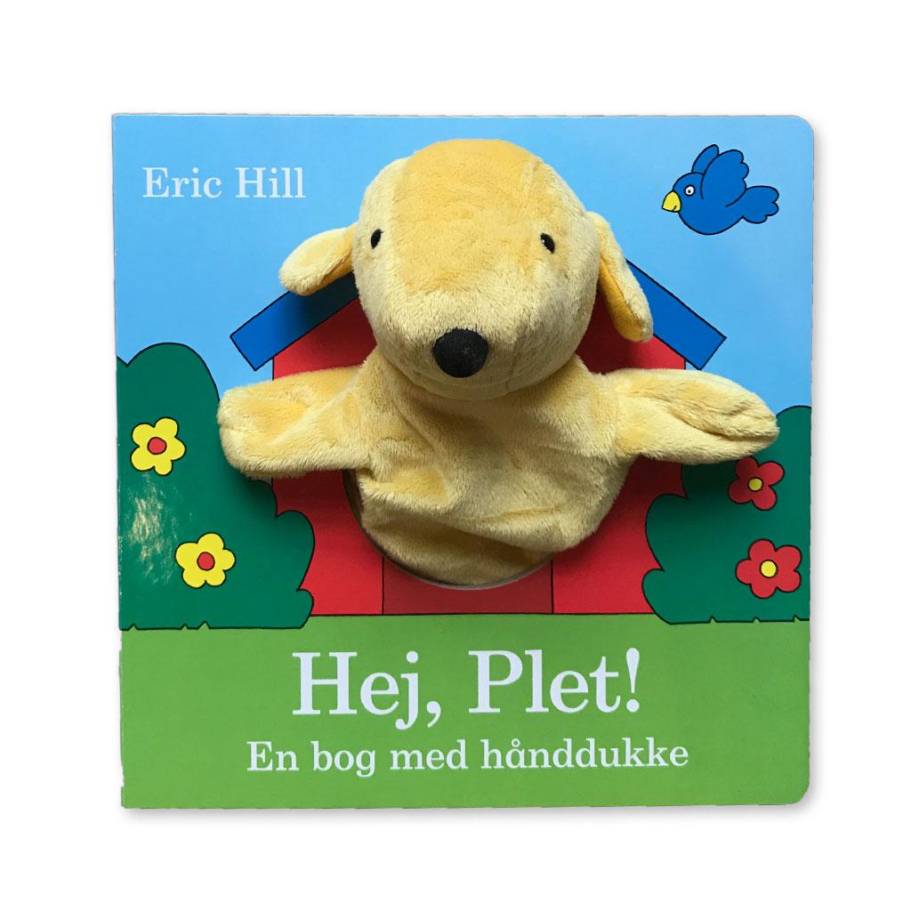 Image of   Hej Plet - bog med hånddukke
