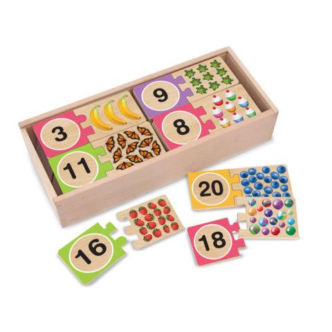 nummer puslespil, matcing, tælle egenskaber, læring, leg, puslespil, tal
