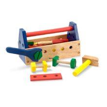 værktøjskasse, tool kit, håndværker, rolleleg, sprogstimulering, snak,ciha, høretab