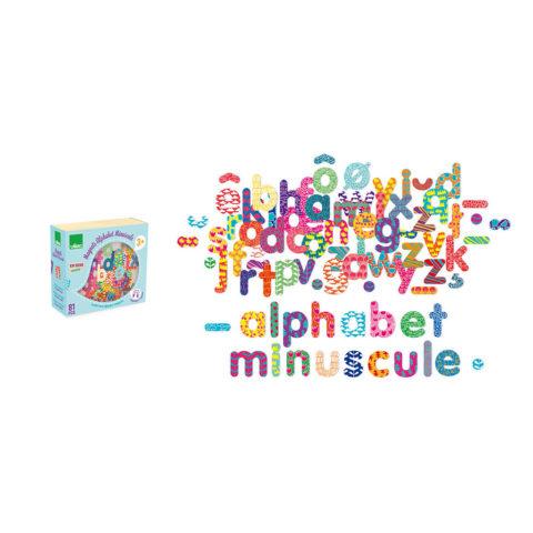 alfabet magneter, træ magneter, 123, abc, lær at skrive, lær at stave, lær at læse, ordlyde