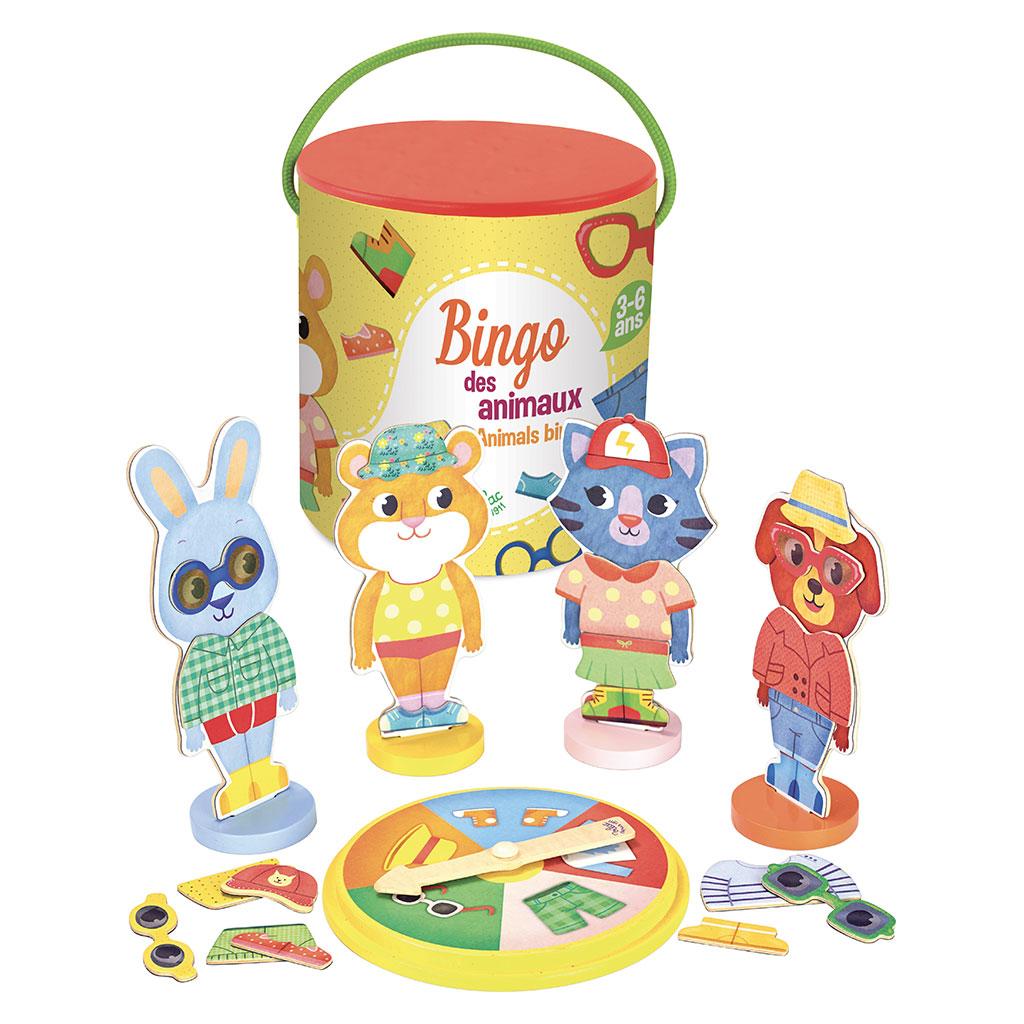 Image of Bingo spil med dyr (4147)