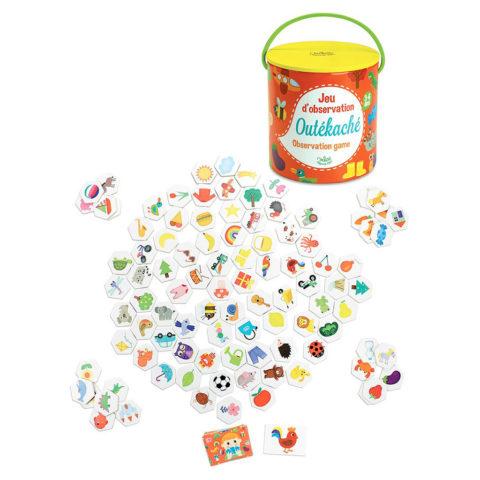vilac observations spil Outcatche. Sjovt og lærerigt spil for børn. Fri fragt over 500 kr hos ciha.dk