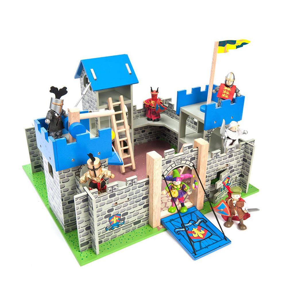 ridderborg, slot, ridder, rolleleg, krig, sprog og leg, soldat, kriger
