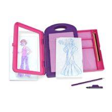 design, tegne-kit, fashion design, tegne-kit med tøj, tegne, kreativ fordybelse, tegne