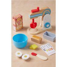 mixer, kage-mixer, brød-mixer, bage maskine, rolleleg, sprog