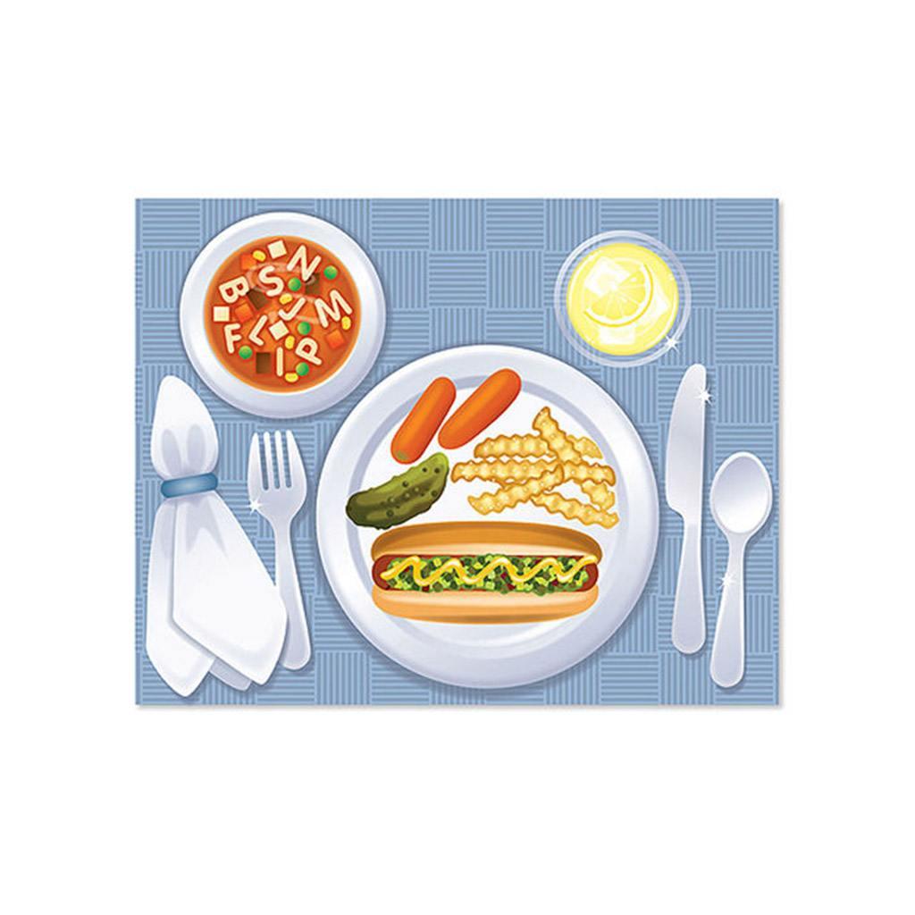 make-a-meal klistermærkebog, sticker pad, aktivitetsbog, sprog, kategorisering, madvarer, kræsne børn, picky eaters, ordforråd