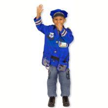 politi, politibetjent, udklædning, kostume, fastelavn, betjent, rolleleg