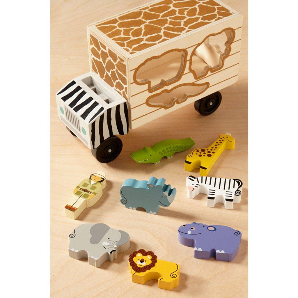 safari redningsbil, safari rescue truck, animal rescue truck, puttekasse, problembaseret læring, motorik, sprog
