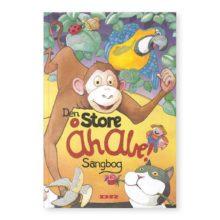 åh abe, den store åh abe sangbog, sangbog, musikbog, musikredskab, sprog udvikling