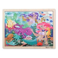 fantasea, havfruer, havet, puslespil, jigsaw, motorik, sprog,