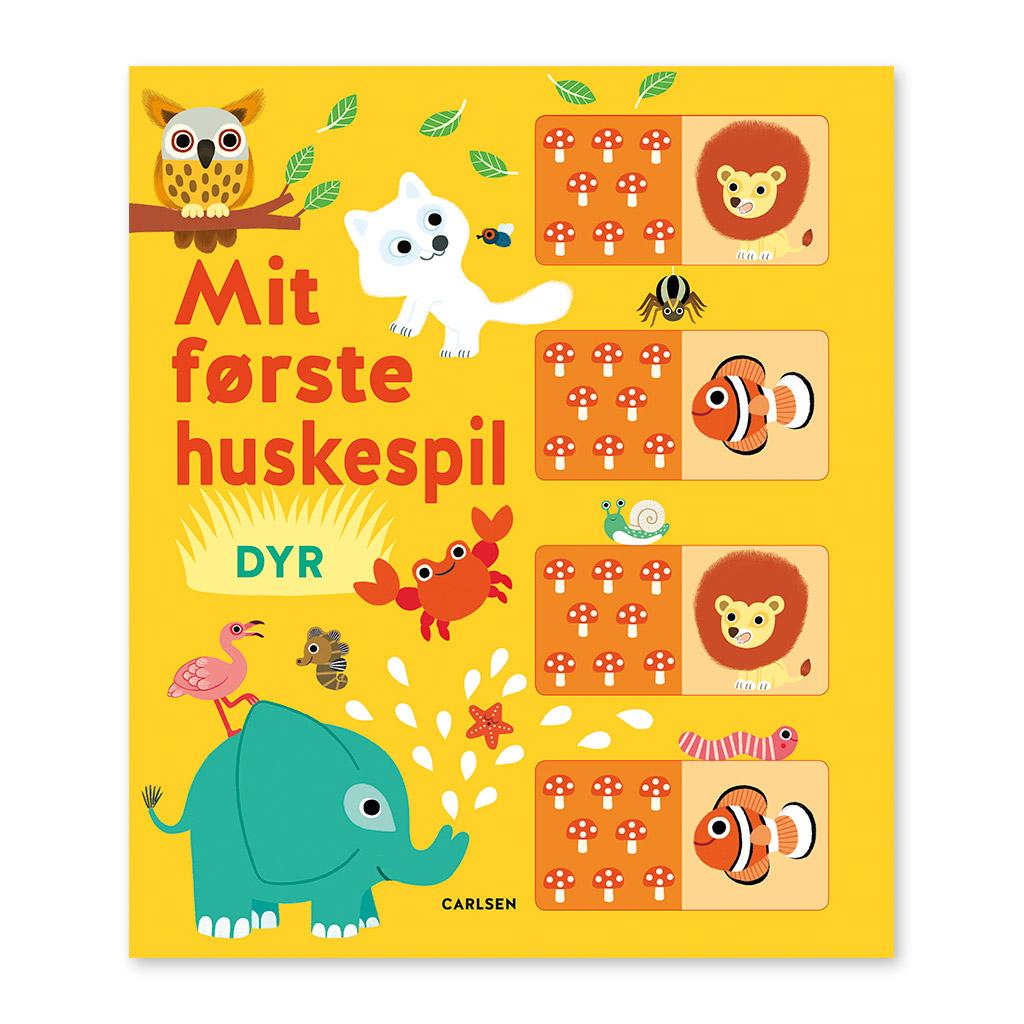 Image of   Mit første huskespil DYR