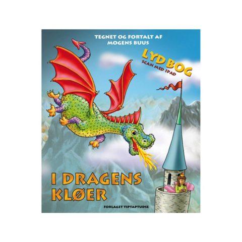 i dragens kløer, eventyrbog, eventyr, moderne eventyr, drager, prinsesser, dialogisk læsning, lydbog, interaktiv bog, scan bogen, tip tap tudse, ciha