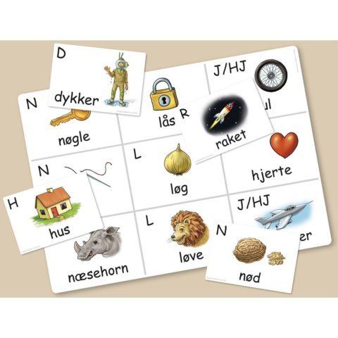 konsonant banko, konsonant, forlyd, lydopmærksom, auditiv opmærksomhed, hørelse, høretab, udtale vanskeligheder, talepædagoger, ppr