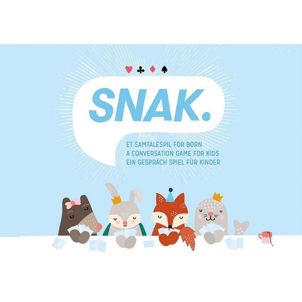 snak, samtalespil, kortspil børn, kortspil, dialog, børnespil