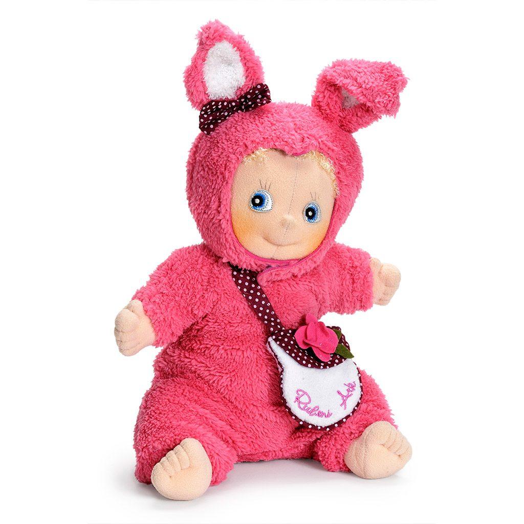bunny, ko, ruben barn, rubens ark, empati, rolleleg, dukke