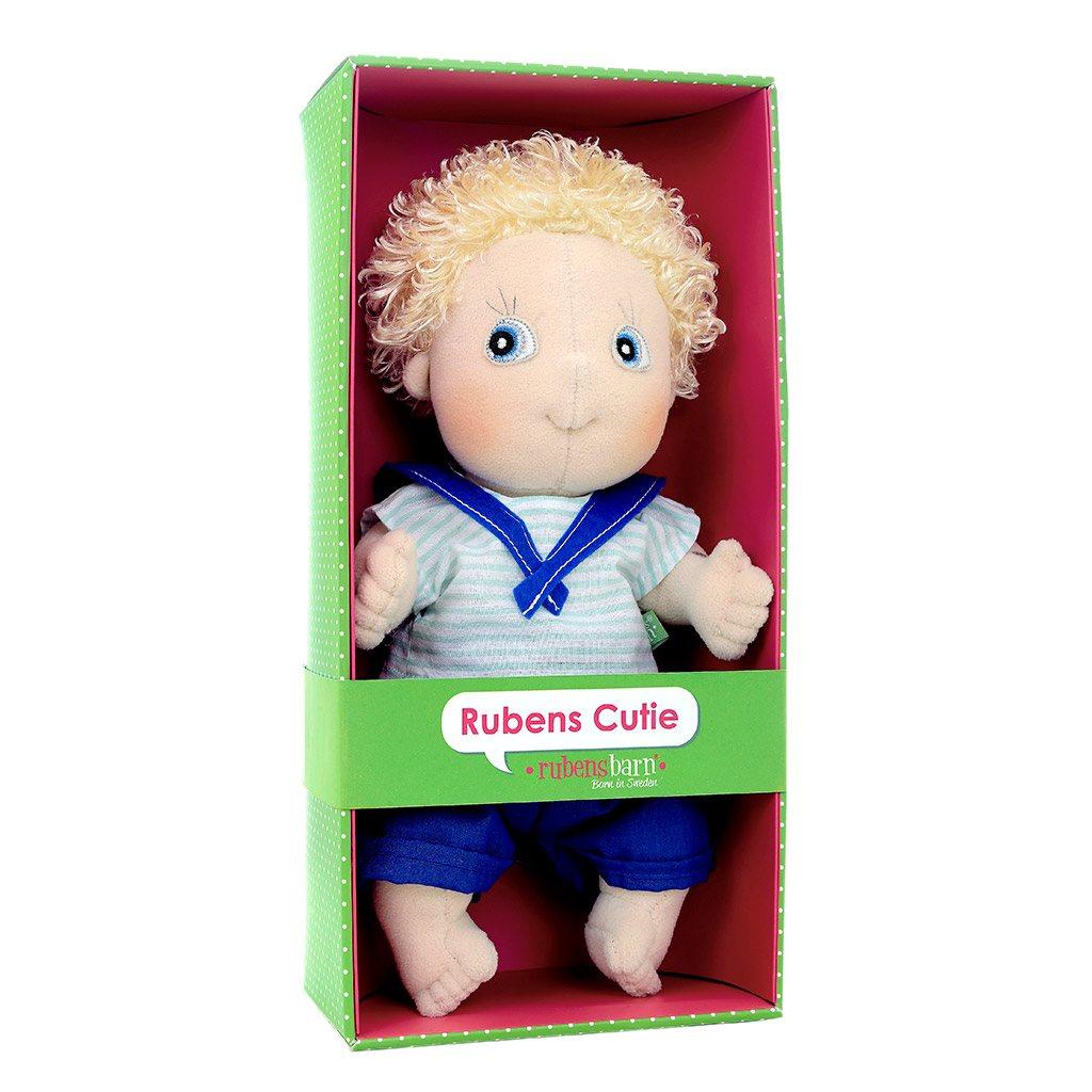 Adam, emelie, rubens barn, cutie, classic, klassisk dukke, emotionel dukke, min første dukke, personlig dukke, rolleleg, dukke