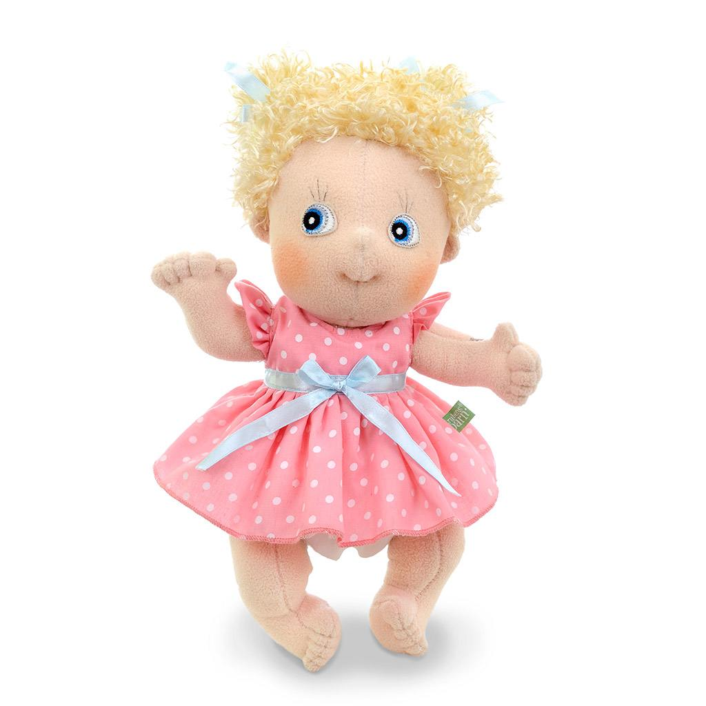 emelie, rubens barn, cutie, classic, klassisk dukke, emotionel dukke, min første dukke, personlig dukke, rolleleg, dukke
