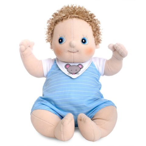 erik, rubens baby, anatomisk korrekt dukke, baby dukke, rolleleg