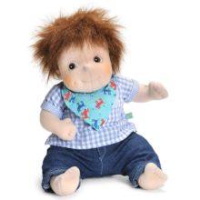 emil, little emil, anna, little anna, little rubens, dukke, doll, doll therapy, baby dukke, bamse dukke, sove bamse