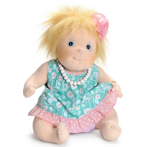 ida, little ida, little anna, little rubens, dukke, doll, doll therapy, baby dukke, bamse dukke, sove bamse