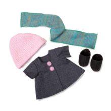 efterårs aóutfit, midwinter, winter, vinter, jakke, dukke tøj, dukke, rolleleg,