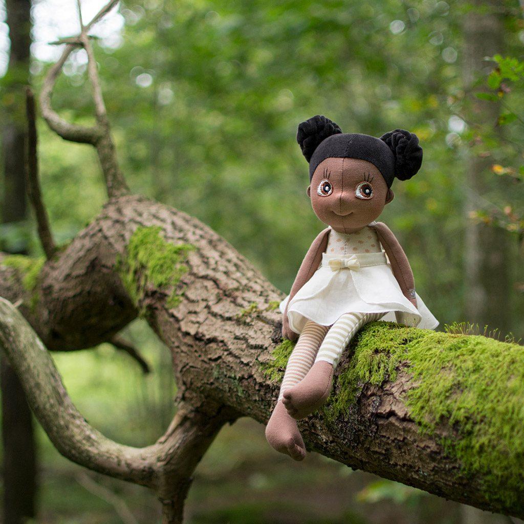 poppy, ecobuds, økologisk, økologi, øko dukke, ecobuds, rubens barn, slaskedukke, min første dukke, rolleleg, kramme dukke, kramme bamse, nusse bamse