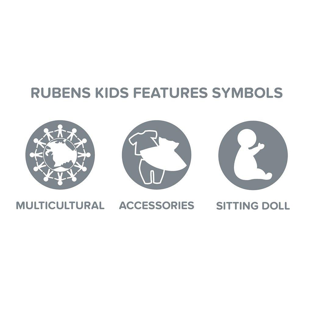 cicci, rubens kids, multikulturel dukke, rolleleg, dukker, empati dukke, rubens,