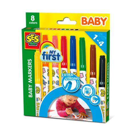 babytuscher, tusser, babytusser, Faver, børnetuscher, tegne, male, ses creative, ciha, sprog, tale, sprogudvikling, kreativ
