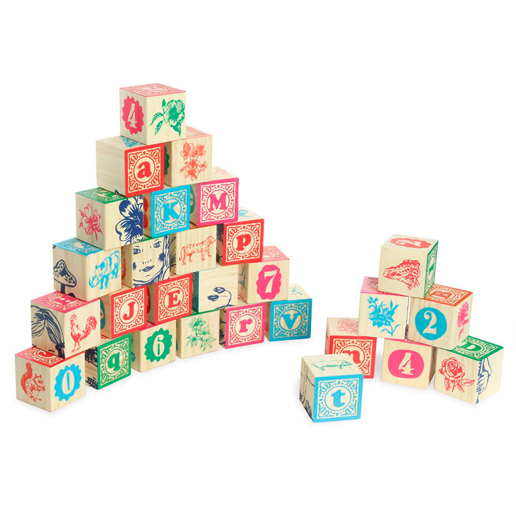 klodser, vilac, klassiske klodser, stable klodser, bogstav klodser, tal klodser, tælle, stable, fin motorik, grov motorik, læse, skrive, stave,