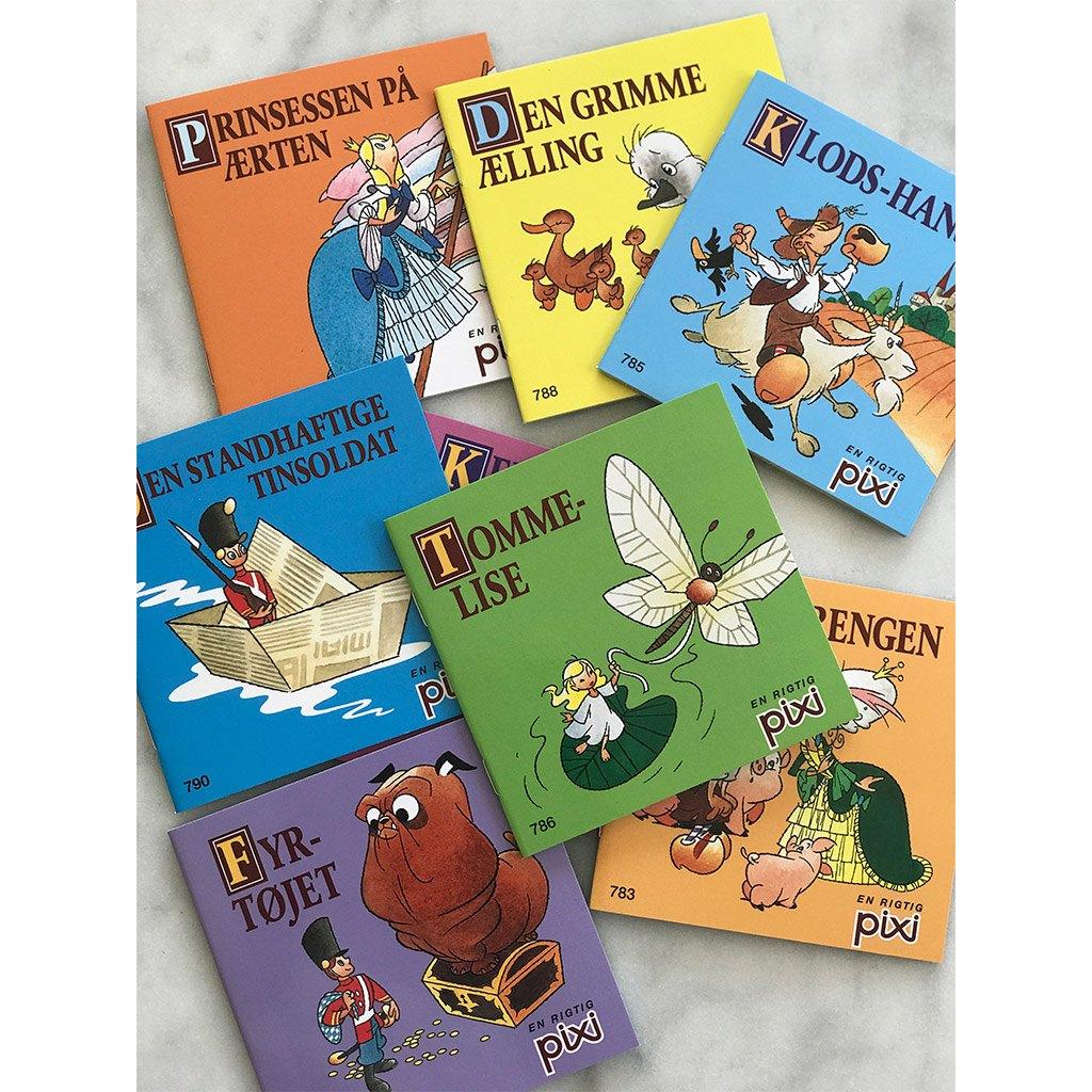 Pixi eventyr, samling, eventyrsamling, Pixi-eventyr, Pixi, eventyr, HC andersen, H.C. Andersen, den grimme ælling, læse, højtlæsning