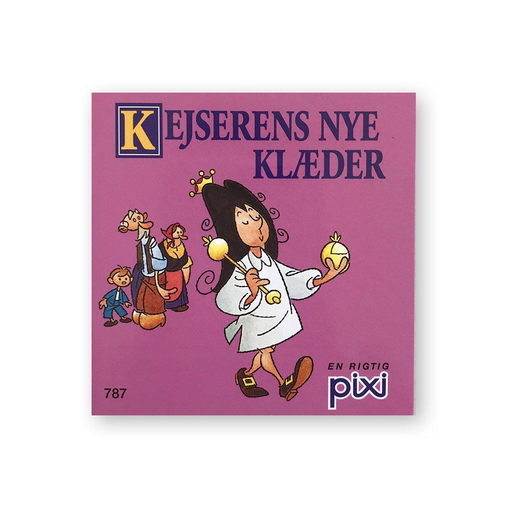 kejserens nye klæder, Pixi, eventyr, HC andersen, H.C. Andersen, den grimme ælling, læse, højtlæsning