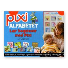 Pixi alfabetet, alfabet, bogstaver, læse, boglæsning, læse bøger, Pixi