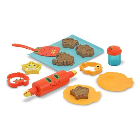sandkage, Melissa and doug, sandkasse, bagesæt, sandleg, strand, bage, sandkager,
