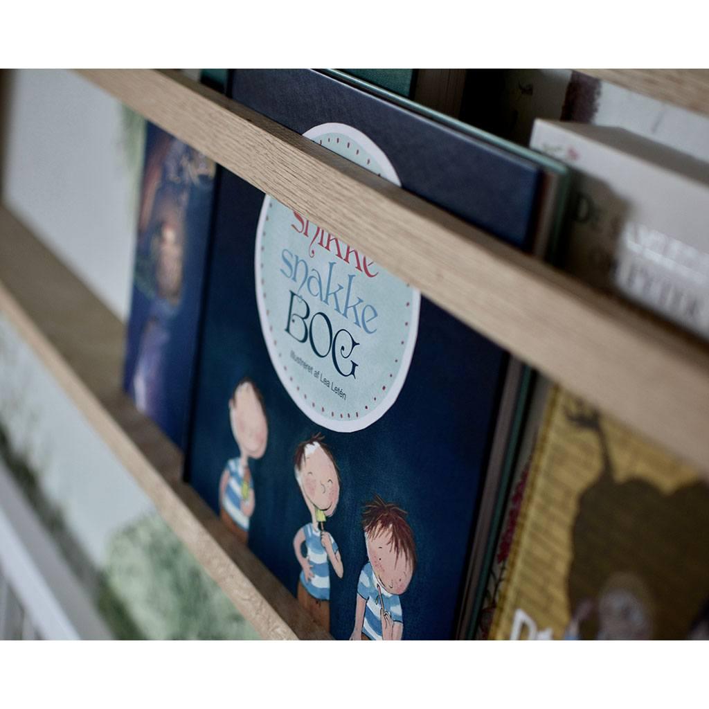den store snikke snakke bog er for børn i alderen 18 måneder til 4 år. Købes kun hos www.ciha.dk